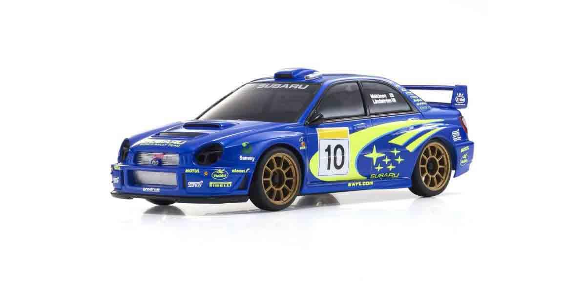 1 27.52 京商 高品質新品 ミニッツボディスバル WRC #10 インプレッサ 2002 日本最大級の品揃え