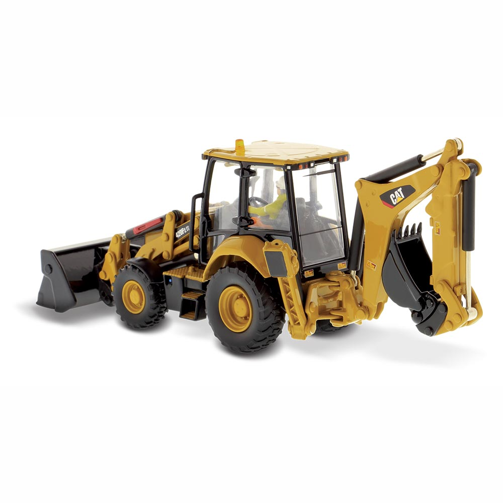 ダイキャストマスター ハイラインシリーズ 1/50 CAT 420F2 IT バックホーローダ