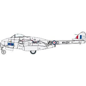 訳ありアウトレット サイバーホビー 1 72 年末年始大決算 定価 イギリス空軍 戦闘爆撃機 訳あり商品 バンパイア デ FB.5 ハビランド