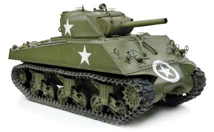 サイバーホビー 1/6 WW.II アメリカ軍 M4A3 シャーマン 105mm榴弾砲搭載型