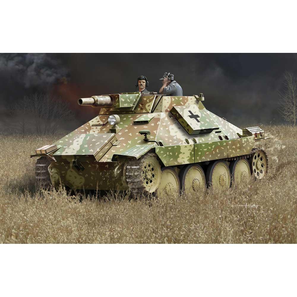 ドラゴン 1/35 WW.II ドイツ軍 38式偵察戦車 7.5cm K51 L/24砲搭載型