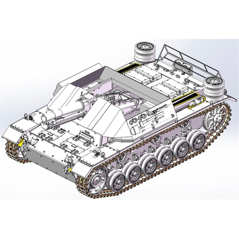 ドラゴン 1/35 WW.II ドイツ軍 15cm 33式重歩兵砲搭載 自走砲 III号戦車H型車体 DR6904(訳あり商品)