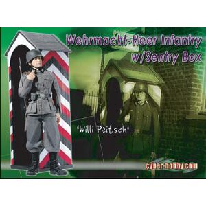 サイバーホビー 1/6 WWII ドイツ陸軍兵 ヴィリー・ペイッヒ w/哨舎