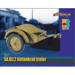 サイバーホビー 1/6 WW.II ドイツ軍 ケッテンクラート用トレーラー