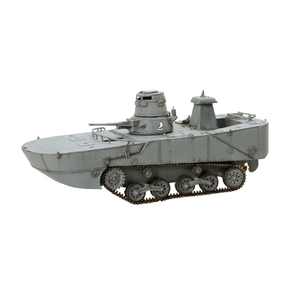 龙甲 1 / 72 WW.II 日本海军水陆两栖坦克特别 2 型推出非洲工业部长会议海上浮动船形式 (与早期的浮点类型) 1944 年,夸贾林岛