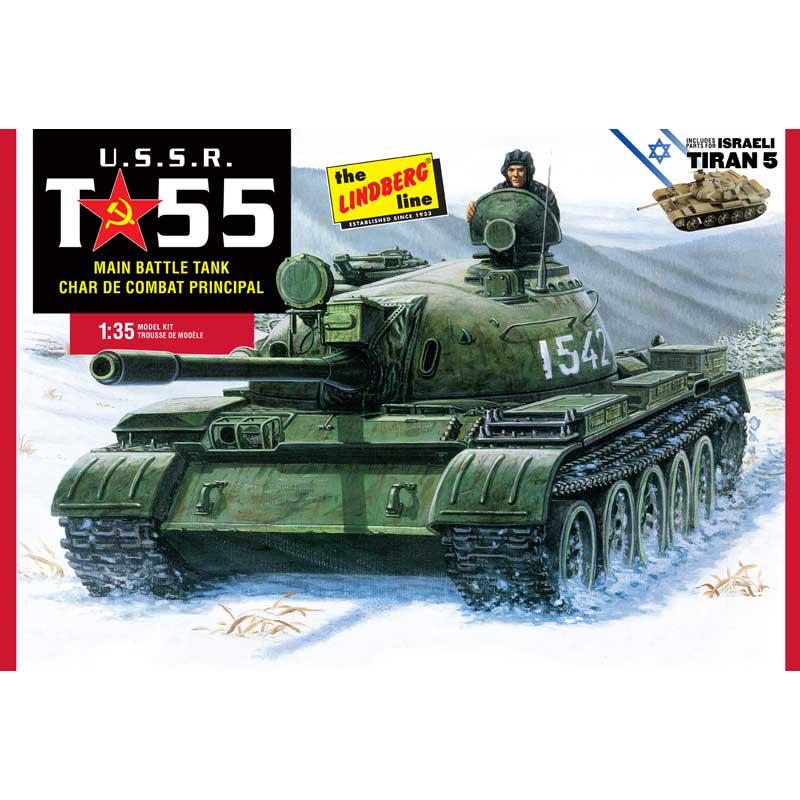 リンドバーグ 1/35 ソビエト軍 T-55