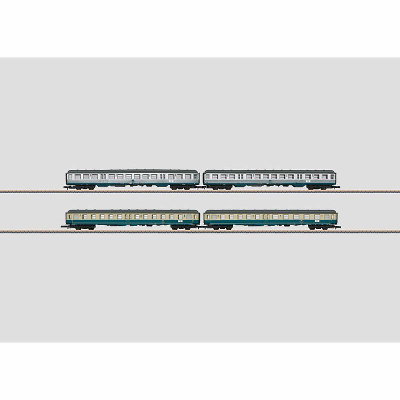 メルクリン 1/220 Zゲージ DB通勤列車4輌セット 2013MHI