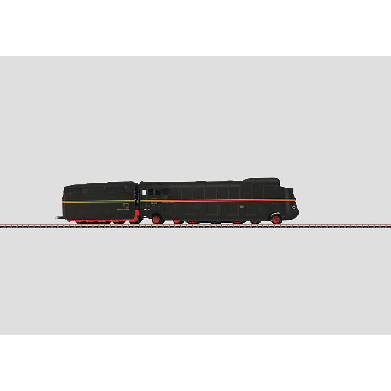 メルクリン 1/220 Zゲージ DRG05形 蒸気機関車(黒-オレンジ)