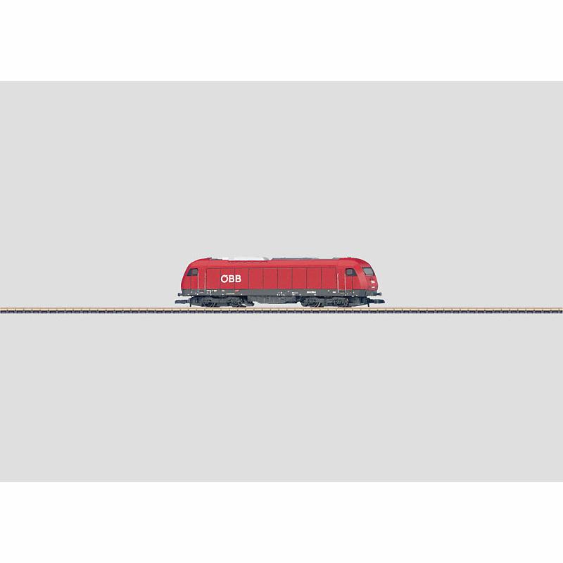 メルクリン 1/220 Zゲージ OBB2016形 ディーゼル機関車