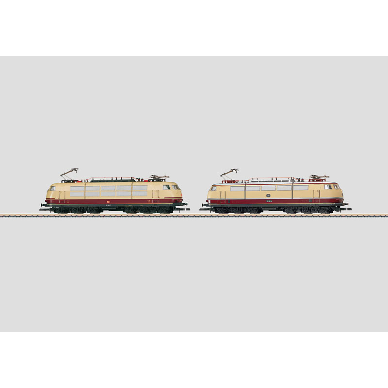 メルクリン 1/220 Zゲージ DB103.0、DBAG103.1形ELドイツの鉄道 175年記念セット