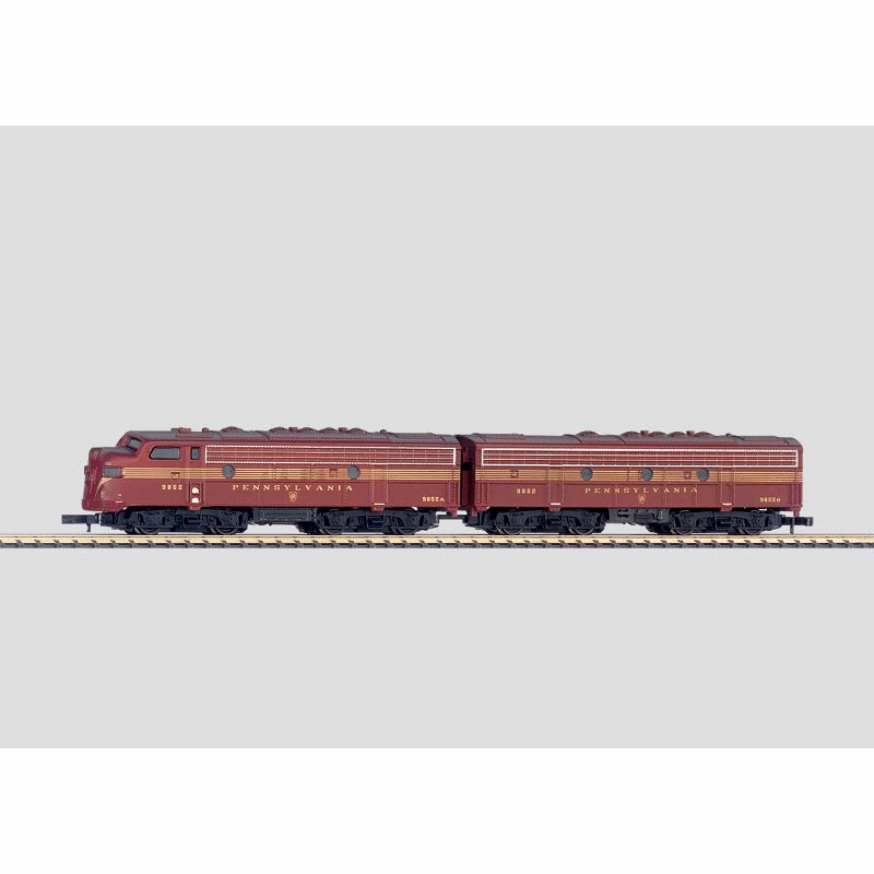 メルクリン 1/220 Zゲージ ペンシルバニア鉄道EMD F7形ディーゼル機関車 A-Bユニット