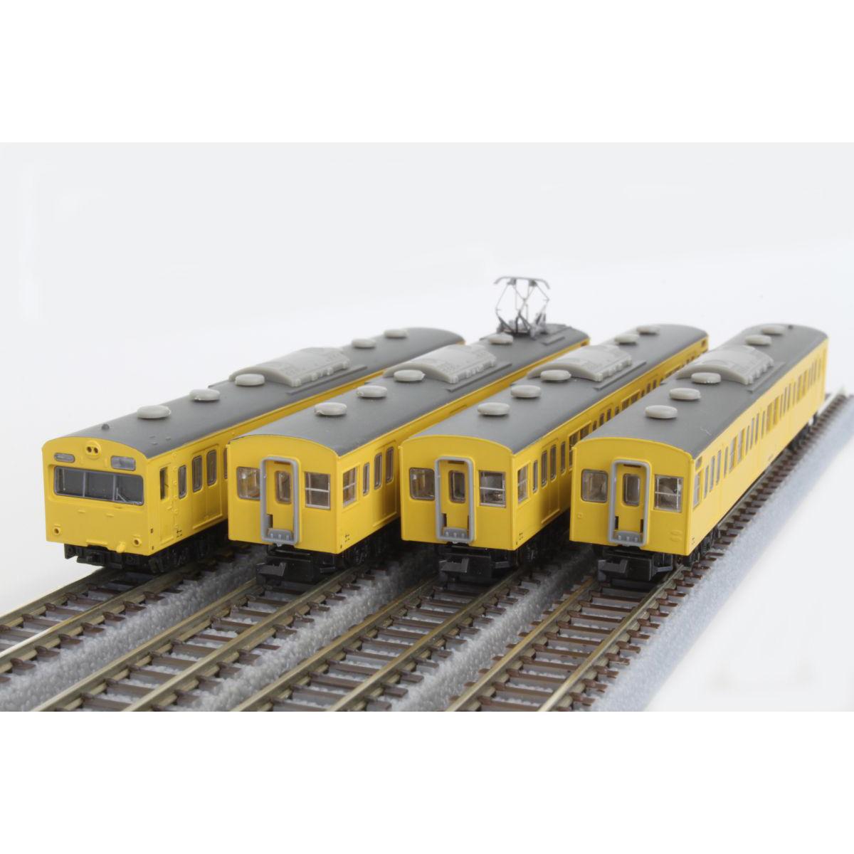 ロクハン Zゲージ 国鉄103系 カナリア 総武線 4両基本セット
