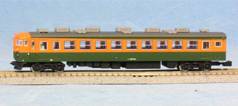 天賞堂 Zゲージ 165系 直流急行形電車 低屋根(冷房改造車) 基本3輌セット