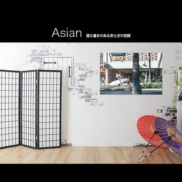 アートパネルで部屋をおしゃれに!壁掛けアートフレーム インテリア小物 artmart アートマート 人気のファブリックパネル、アートボードやアートポスター。 風景_ストリート_20130729-059