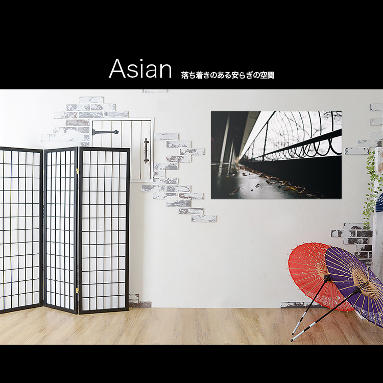 アートパネルで部屋をおしゃれに!壁掛けアートフレーム インテリア小物 artmart アートマート 人気のファブリックパネル、アートボードやアートポスター。 風景_ストリート_75l-0493
