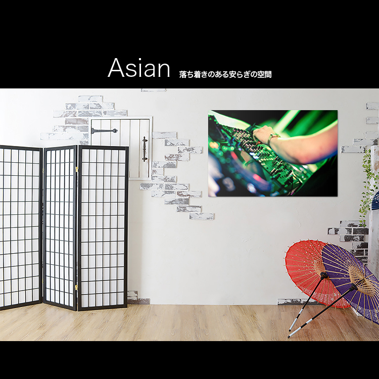 hobbyman with art panel art frame wall hangings interior photogram