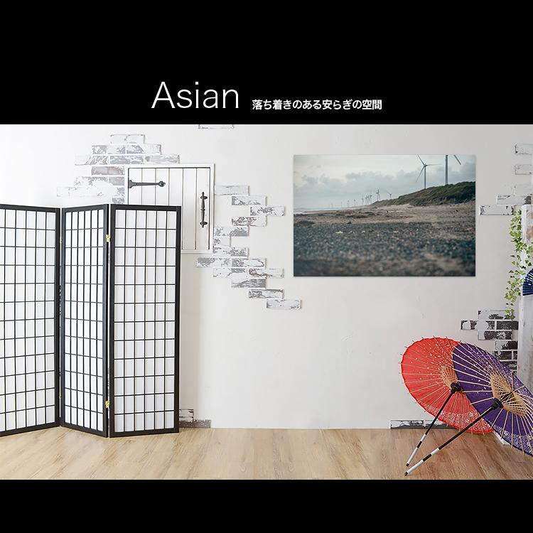 アートパネルで部屋をおしゃれに!壁掛けアートフレーム インテリア小物 artmart アートマート 人気のファブリックパネル、アートボードやアートポスター。 風景_丘_75l-5101