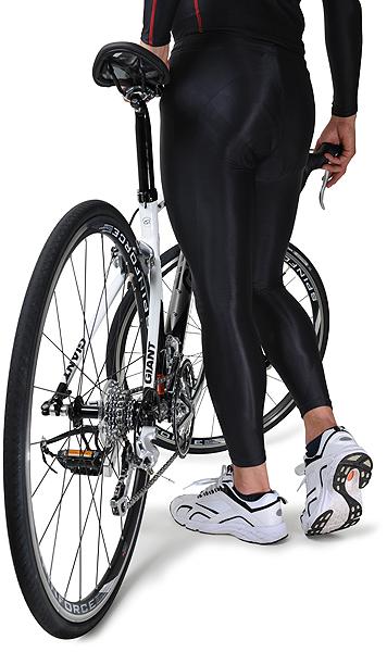 ★自転車のインナー 筋肉疲労を軽減 スポーツウェア FIXFIT RIDER【品番:ACW-X05 ロング】コンプレッション 加圧インナー サポート タイツ メンズ レディース アンダーウェア 日本製 ロードバイク トレーニング サイクリング ロットNo:0516C