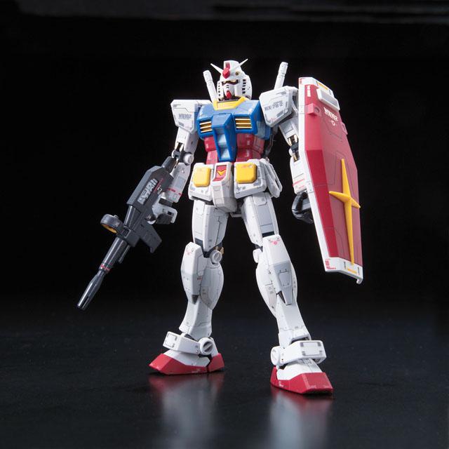 BANDAI 1/144 RG 01 RX-78-2 Gundam (Mobile Suit Gundam)