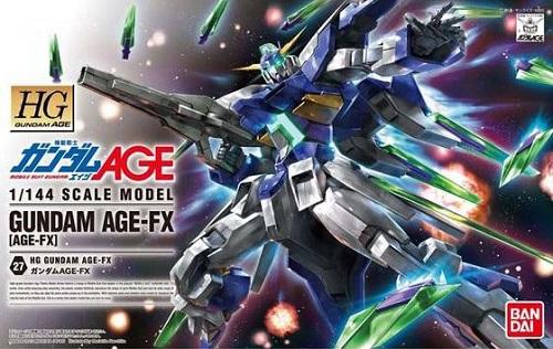 BANDAI 1/144 HG 27 Gundam AGE-FX (Mobile Suit Gundam AGE)