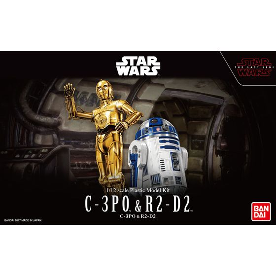 バンダイ 1/12 C-3PO&R2-D2(スターウォーズ)