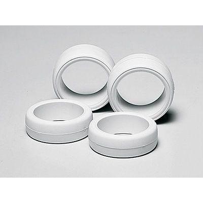 Tamiya mini-四駆 upgrading parts No. 365 size diameter hardware racing slick set (white) 15365