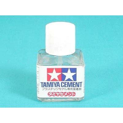 Tamiya makeup materials series No. 3 Tamiya cement (corner bottle) 87003