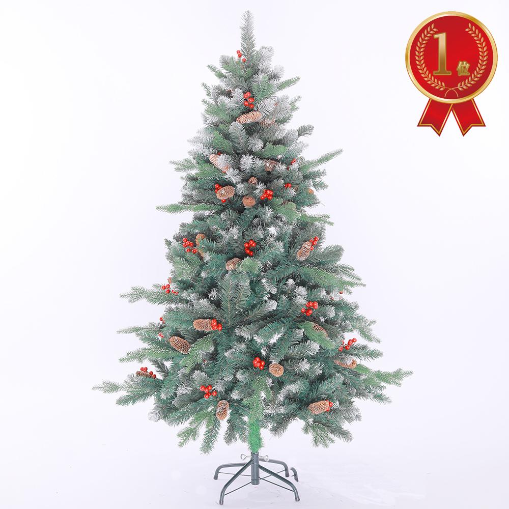 クリスマスツリー 北欧 おしゃれ 180cm タペストリー オーナーメント スリム セット まるで本物のような高級感! かわいい 150cm 210cm もあります! 【本州一律 送料無料】