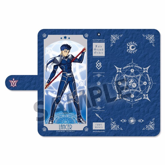 Fate/Grand Order Cell Phone Wallet Case Lancer/Cu Chulainn (In-Stock)