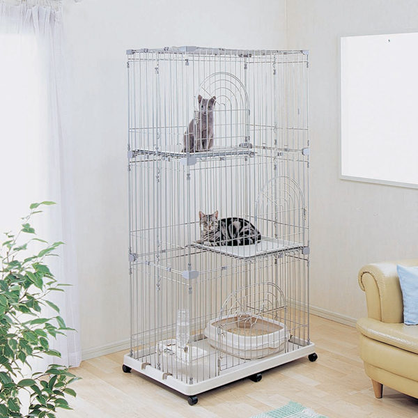 hobbytoy | Rakuten Global Market: Pet cage PEC-903 beige / silver ...
