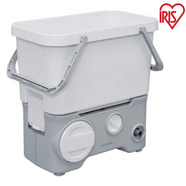 送料無料 タンク式高圧洗浄機 充電タイプ ホワイト SDT-L01N アイリスオーヤマ