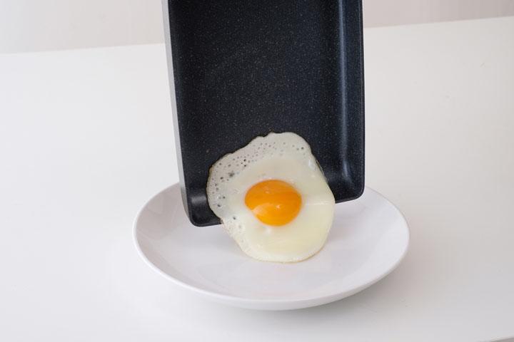 グリーンシェフ ロックスエッグパン IH GC-RE-I ブラック GREEN CHEF フライパン コーティング サーモロンコーティング THERMOLON THERMOLONコーティング 焦げ付かない ロックス加工 IH IH対応 アイリスオーヤマ