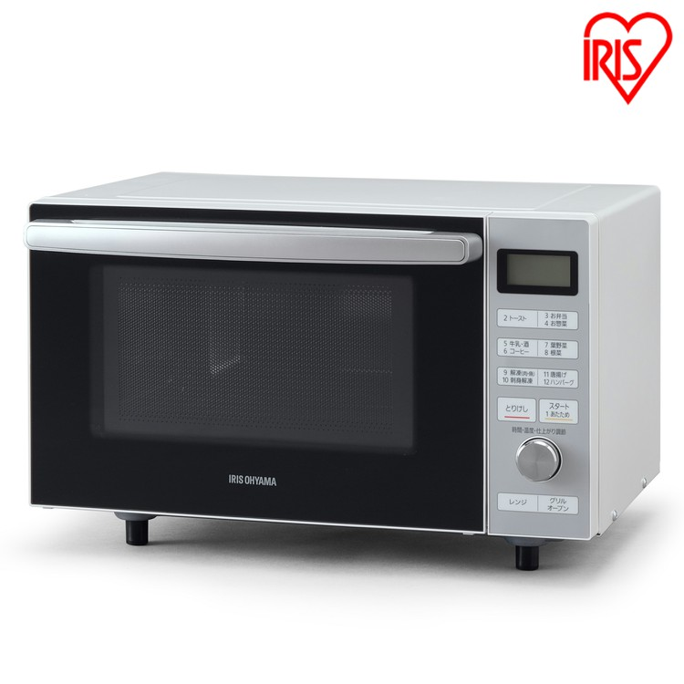 スチームオーブンレンジ カップ式 18L ホワイト MO-F1806-W送料無料 スチーム すちーむ オーブンレンジ オーブン レンジ 電子レンジ グリル 料理 キッチン 調理器具 でんしれんじ デンシレンジ アイリスオーヤマ