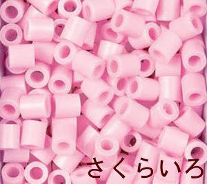 パーラービーズ 5079 さくらいろ 単色 アイロンビーズ 桜色 1000ピース入 図案 立体作品作りに 男の子向け 女の子向け 桃 舗 かわだ ビーズ遊び ハンドメイド D 公式サイト 知育玩具 おんなのこ PN おとこのこ 5才から カワダ