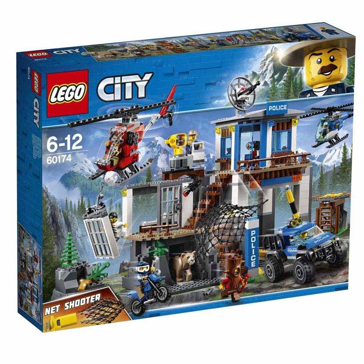 レゴ シティ 山のポリス指令基地 60174送料無料 おもちゃ 玩具 ブロック 男の子向け ミニチュア 街 LEGO City ギフト プレゼント レゴジャパン 【TC】