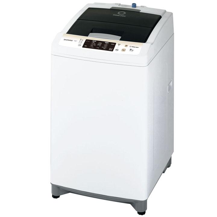 \P10倍~4/20or21 20:00~23:59迄/全自動洗濯機 9.0Kg ホワイト DW-MT90DG送料無料 洗濯機 全自動 せんたくき 全自動 ぜんじどう 9kg 9.1kg 9キロ 9きろ 大容量 大宇 【D】