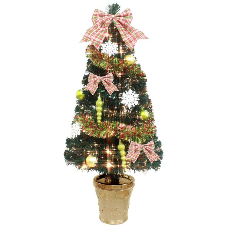 DXグリーンFスノーフレークツリー 120cm WG-6934送料無料 クリスマスツリー イルミネーション オーナメント もみの木 Xmas 飾り 友愛玩具 【D】