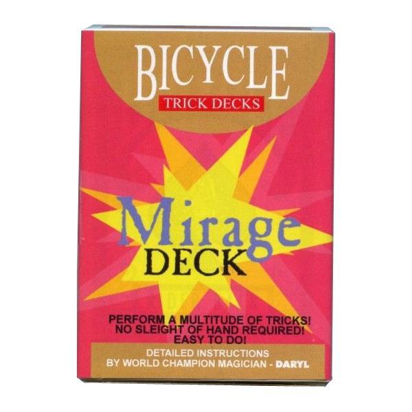 国内正規総代理店アイテム バイスクルマジックカード ミラージュデック PCM12 手品 AB マジック 売却