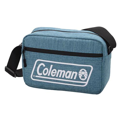 メーカー直送 推奨 Coleman カメラショルダーバッグMS メランジブルー VCO-8747 カメラバッグ カメラアクセサリー AS