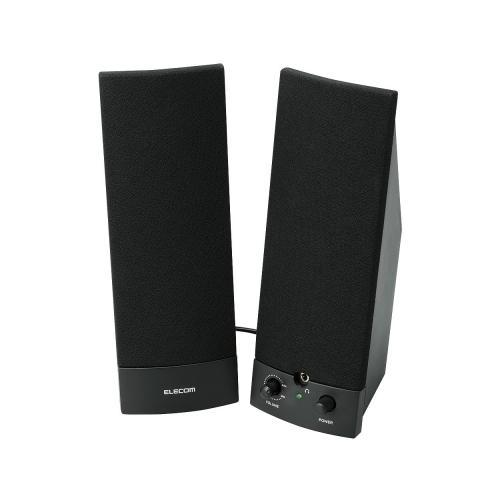 MS-88BK non-2.0 speakers for PC [ELECOM (Elecom)]