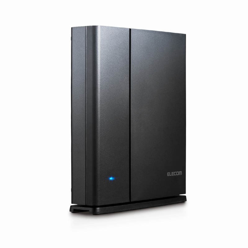 [エレコム] WiFi 無線LAN ルーター 11ac ac1900 1300+600Mbps IPv6対応 トレンドマイクロセキュリティ 3階建/4LDK デュアルバンド WRC-1900GST2[▲][EL]