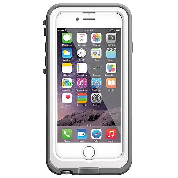 iPhone 6S/iPhone 6 共通 fre/Power/Case/White/Gray スマートフォンケース スマホケース 防水ケース 防水スマホケース 海 風呂 [▲][G]