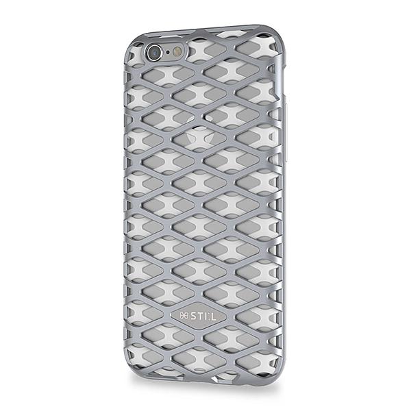 iPhone 6S/iPhone 6 共通 URBAN/KNIGHT/Bar/シルバー スマートフォンケース スマホケース [▲][G]