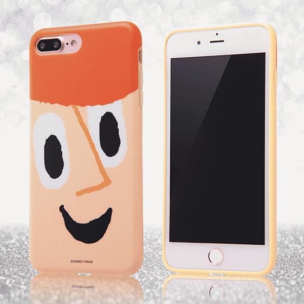 ディズニーキャラクターの顔が大胆にスマホと一体化 お買い物マラソン限定50円OFFクーポン iPhone 8 Plus 7 売れ筋ランキング 共通 G ウッディ スマートフォンケース 本日の目玉 クローズアップ ディズニー スマホケース TPU