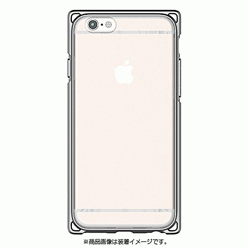 iPhone 6S/iPhone 6 共通 アドバンスト/耐衝撃ケース/チャコール スマートフォンケース スマホケース [▲][G]:ホビナビ
