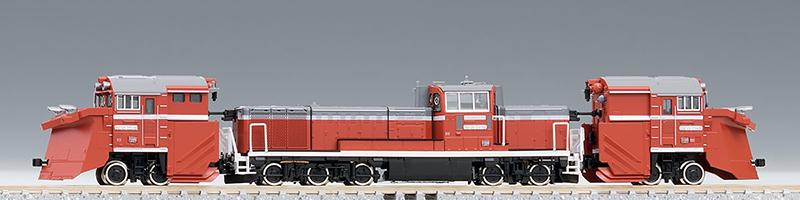 【トミックス/TOMIX】DE15 2500(JR西日本仕様・単線用ラッセルヘッド付) 鉄道模型 Nゲージ ディーゼル機関車[▲][ホ][F]