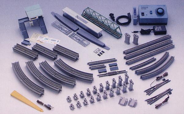 【トミックス/TOMIX】マイプラン DX II (F) (Fine Track レールパターンA+B+C) (鉄道模型) 鉄道模型 Nゲージ Nゲージ入門セット レール[▲][ホ][F]