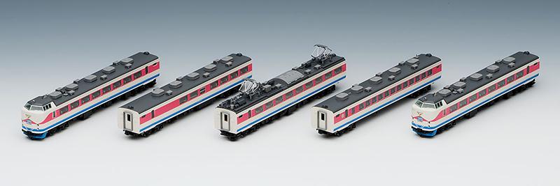 【トミックス/TOMIX】489系特急電車(白山)基本セットB[▲][ホ][F]