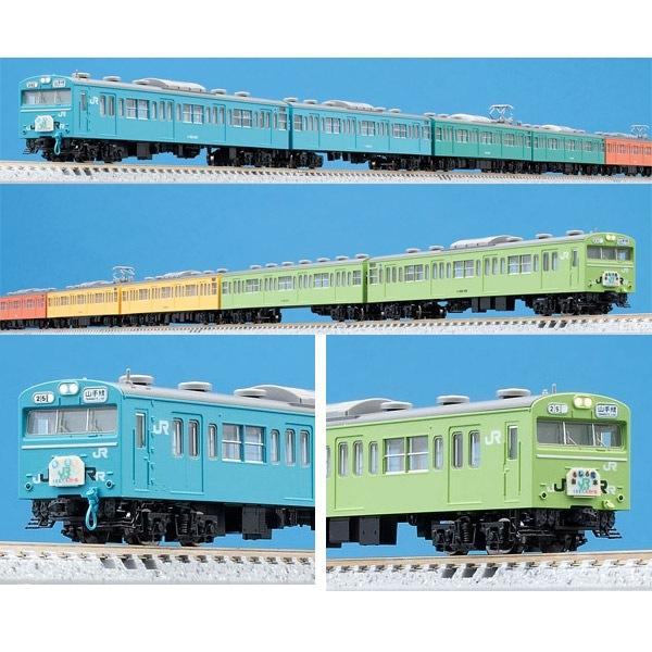 【トミックス/TOMIX】103系通勤電車(山手線おもしろ電車)セット(10両)【限定品】 鉄道模型 Nゲージ 通勤型[▲][ホ][F]