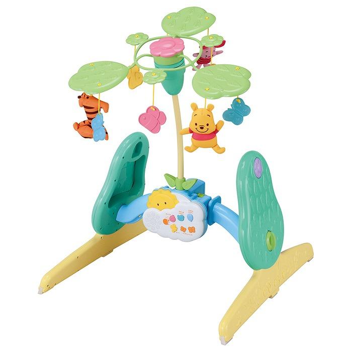 【トミックス/TOMIX】 くまのプーさん えらべる回転6WAYジムにへんしんメリー おもちゃ 知育玩具 プリスクールトイ キャラクター ディズニーベビー[▲][ホ][K]